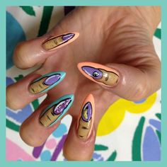 Cool!  Designing your nails is SO EASY with MOYOU nail art kits! Visit our website: www.lvnailart.com