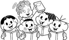 Desenhos para colorir - Para colorir turma da monica Superman Wonder Woman, Paw Patrol, Pikachu, Skull Art, Peanuts Comics, Stencils, Snoopy, Clip Art, Embroidery