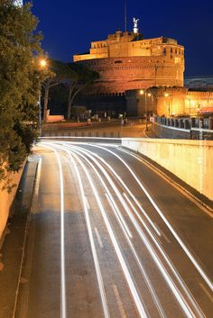 Light Trail, Rome, Italy. by Songquan Deng on 500px