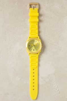 Viscid Watch  -For some weird reason, I kinda want a yellow watch! :D maybe a lime one, too? :)