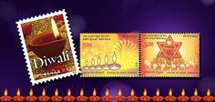 Mintage World wishes each one of you a very happy Diwali by taking you through some coins of India and stamps related to the festival of lights!