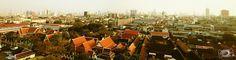 Bangkok top view