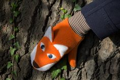 Schnittmuster Fuchs Handschuhe