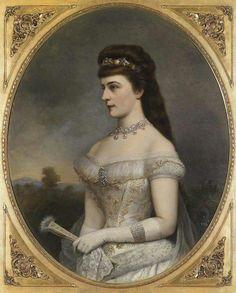 Elisabeth op 25-jarig jubileum, minder mooi schilderij van haar.