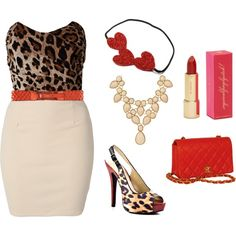 Cheetalicious, created by sfunkygirl on Polyvore