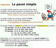 passe simple in french
