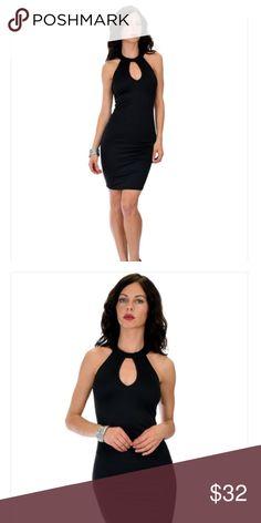 COMING SOON! ❤️Black keyhole halter bodicon dress COMING SOON! Black bodicon keyhole halter dress👠💄❤️Fabric Content: 83% Polyester 14% Rayon 3% Spandex Sizes: S-M-L-XL Dresses Mini