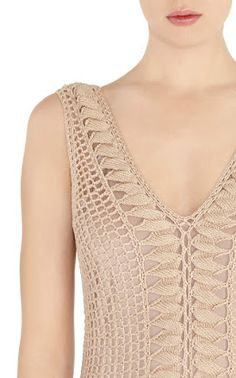 Outstanding Crochet: Karen Millen. Jacket and dress. CROCHET/TRICOT INSPIRATION: http://pinterest.com/gigibrazil/crochet-summer/