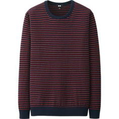 MEN COTTON CASHMERE CREWNECK SWEATER http://www.uniqlo.com/us/men/featured/weekly-promotion.html