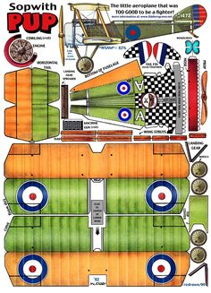 Sopwith Pup : Instruction http://www.fiddlersgreen.net/models/Aircraft/Sopwith-Pup.html