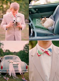 bow ties and old cars