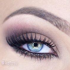 #katosu using #motivescosmetics eyeshadows in Vino and Latte