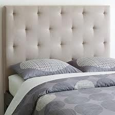 Make ur own fabric headboard