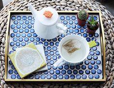 DIY Hexagon Tile Tray by @theproperblog | DiY Home Decor | Pinterest ...