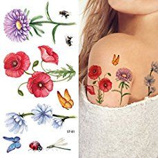Floral tattoos have been considered as feminine tattoos for a long time. What they truly represent is not femininity, but tenderness, care, and love!