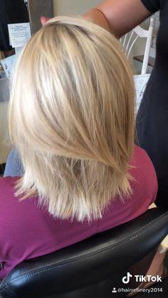 Hair Tutorials For Medium Hair, Haircuts For Medium Hair, Medium Hair Cuts, Medium Hair Styles, Short Hair Styles, Blonde Hair Shades, Light Blonde Hair, Blonde Hair Looks, Light Hair