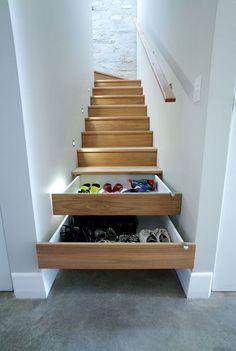 Increible tip para que tus zapatos estén siempre organizados #guardarzapatos #mueblezapatero