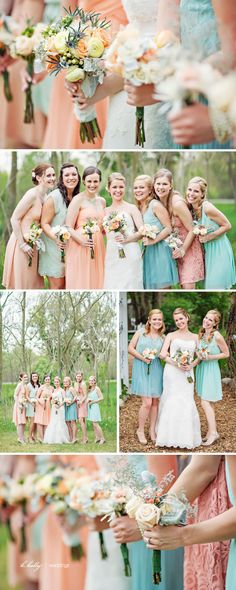 of course LOVE k. holly! but really love these colors and the differnet colors of dresses!   blue-dress-barn-wedding-erindan-16
