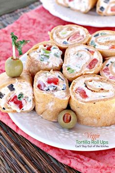 Veggie Tortilla Roll Ups | Can't Stay Out of the Kitchen | spectacular #appetizers that are great for #SuperBowl fare or #tailgating parties.