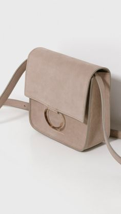 Brother Vellies Palma Bag in Sand Nubuck | The Dreslyn