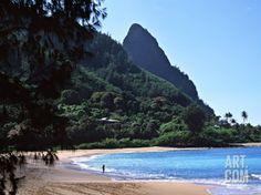 Hanalei Bay and Bali Hai, South Pacific, Hawaii, USA Photographic ...