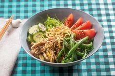 Summer Chicken Ramen with Fresh Noodles, Purple Beans & Tomato Purple Beans, Green Beans, Asian Recipes, Healthy Recipes, Ethnic Recipes, Healthy Dinners, Chili Recipes, Summer Chicken, Pasta