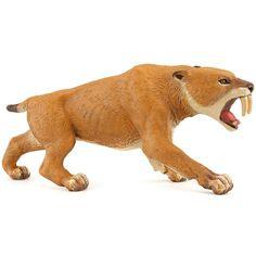 Papo 55022 - Figura de tigre de dientes de sable: Amazon.es: Juguetes y juegos