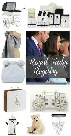 Royal Baby Registry on BabyList