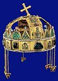 Elölről Hungary History, Byzantine Gold, Royal Crowns, Crown Jewels, Female Images, Weapons, Armour, Facebook, Crafts