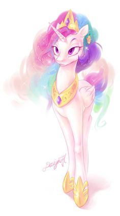 Princess Celestia by DesignJH on DeviantArt