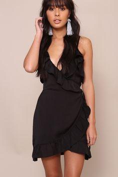 Date Night Wrap Dress