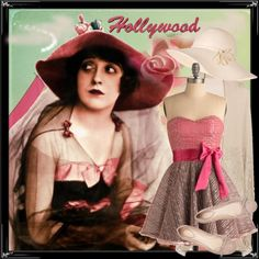 A set inspired by Mabel Normand