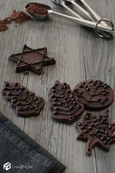 The Best Chocolate Cookies Ever for Tu B'Shevat