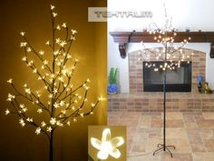 Tektrum 6.5' Tall/108 Warm White LED Lighted Cherry Blossom Flower Tree for Christmas/Holiday/Party Tektrum,http://www.amazon.com/dp/B00648W7WQ/ref=cm_sw_r_pi_dp_fs8Bsb1K95B34PKP
