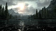 Skyrim landscape - http://videogamedirectory.net/?s=skyrim