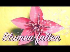 Wunderschöne Blume Falten / Origami Blume aus mehreren Teilen / einfache Anleitung
