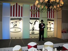 Circus Theme Corporate Event by The Prop Factory, via Flickr