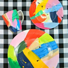 I LOVE when art intersects with functional objects! The work of Martinich and Carran is some of my favorite. These plates are a terrific ...
