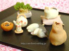 猫のお菓子 お茶の時間にしましょうか -キャロ&ローラのちいさなまいにち-