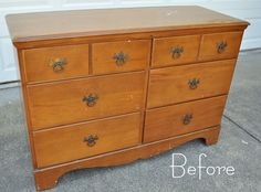Refinishing Furniture - Just have to make sure it's not a classic/antique piece......