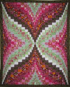 Bargello Quilt Top 43... could be a butterfly