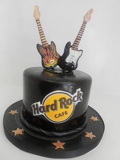 Hard Rock Cafe cake guitar (726) | Flickr - Photo Sharing!