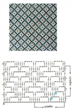 CROCHET - Lovely Feminine Wide Boarder Lattice Stitch Pattern (Asian Pattern, Found on Russian Website (allmyhobby. Motif Bikini Crochet, Crochet Lace Edging, Crochet Diagram, Love Crochet, Diy Crochet, Crochet Doilies, Crochet Flowers, Filet Crochet Charts, Crochet Stitches Patterns