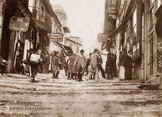 Yüksekkaldırım  (1910, Karaköy) #birzamanlar #istanlook #nostalji