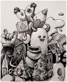 Marija Tiurina Ink Doodles