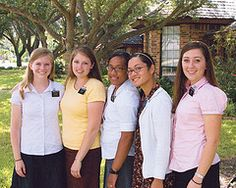 group of sister missionaries having fun serving their mission