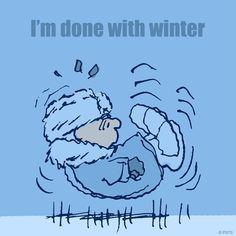 That's enough winter, thanks!