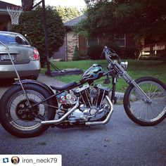 @iron_neck79  For trade! 79 XLH 1000 Ironhead in jammer frame! Lots of rad parts! Like to trade for an evo rigid or shovel rigid! Just throwing it out there! Can give parts list if any interest! Located in Missouri @chopperswapper #chopperswapper #chopper #ironheadchopper #ironhead #harleydavidson by chopperswapper