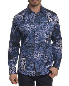 NEW Robert Graham DIESEL Paisley Embroidered Classic Fit Limited Edition Shirt