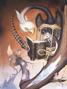 The Third Trial - Greg 'Craola' Simkins Cool Artwork, Dark Art, Fantasy Art, Graffiti, Whimsical, My Arts, Amazing, Awesome Art, Animation
